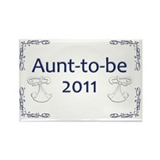 Yard_Aunt-to-be11 Rectangle Magnet