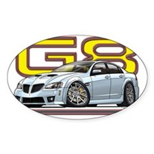 Pontiac_G8_white Decal