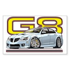 Pontiac_G8_white Decal
