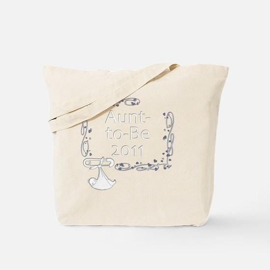 BlkShirtSwrl2_AuntToBe11 Tote Bag