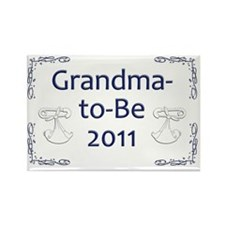 Yard_gma-to-be-11 Rectangle Magnet