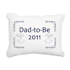 Yard_Dad-to-be11 Rectangular Canvas Pillow