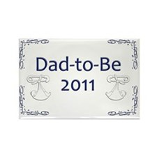 Yard_Dad-to-be11 Rectangle Magnet