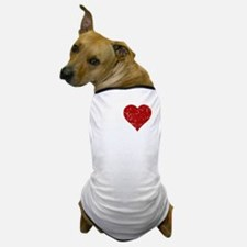 heartquinn_white Dog T-Shirt