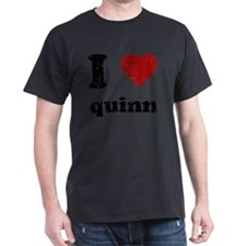 heartquinn_black T-Shirt