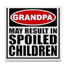 2-grandpa Tile Coaster