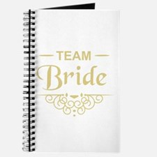 Team Bride in gold Journal
