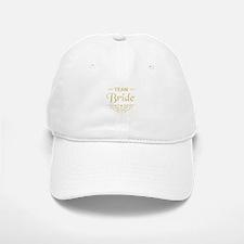 Team Bride in gold Baseball Baseball Cap