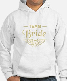 Team Bride in gold Jumper Hoody