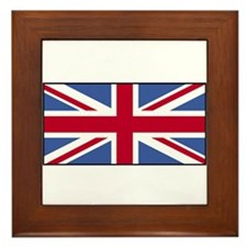 UK Union Jack Flag Framed Tile