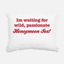 HoneyMoonSexLight Rectangular Canvas Pillow