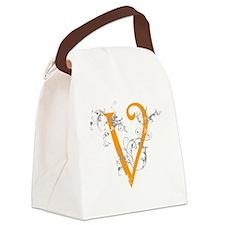 2-swirl-new-dark Canvas Lunch Bag