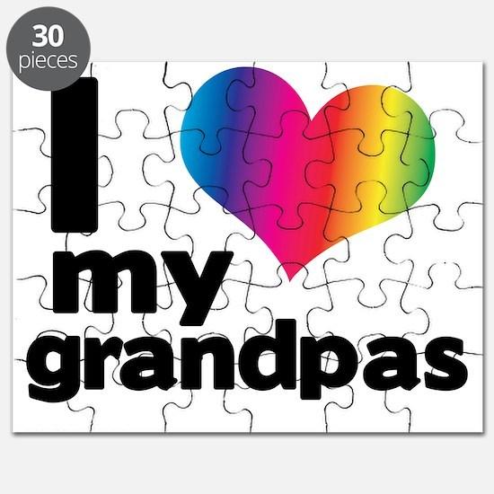 i love my grandpas Puzzle