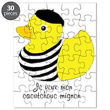 Je veux mon caoutchouc mignon Puzzle