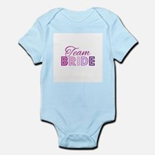 Team Bride in purple and pink Body Suit