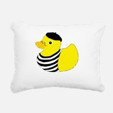 rubberducky_french_color Rectangular Canvas Pillow