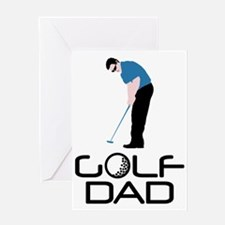Golf Dad Greeting Card