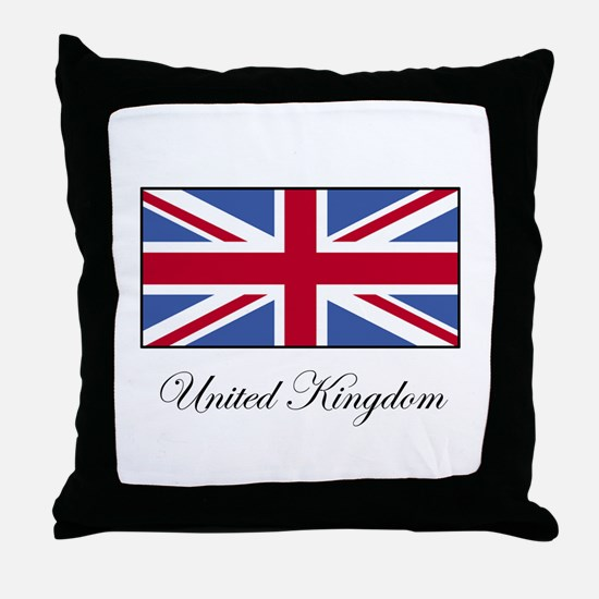 UK - United Kingdom Throw Pillow
