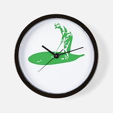 A Golfer's Diet copy Wall Clock