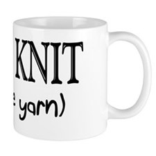 Carpe Knit Small Mugs