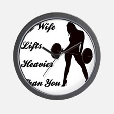 my-wife Wall Clock