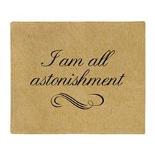 i-am-all-astonishment_b Throw Blanket