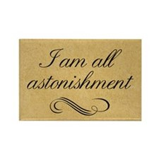 i-am-all-astonishment_12x18 Rectangle Magnet