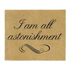 i-am-all-astonishment_12x18 Throw Blanket