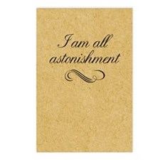 i-am-all-astonishment_j Postcards (Package of 8)