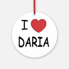 DARIA01 Round Ornament