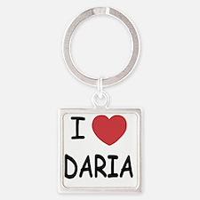 DARIA01 Square Keychain