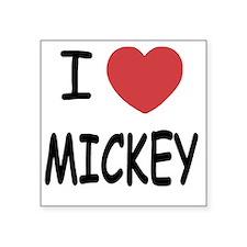 """MICKEY01 Square Sticker 3"""" x 3"""""""