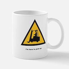 I'm here to pick up Mug