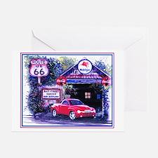 SSR Garage Greeting Card