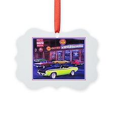 Mopar Car Dealer Picture Ornament