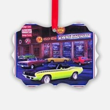 Mopar Car Dealer Picture Ornament