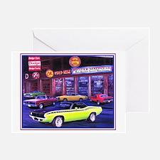 Mopar Car Dealer Greeting Card