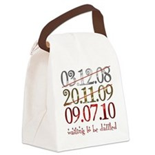 2-UK_dates_dazzled Canvas Lunch Bag