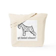 Standard Schnauzer Tote Bag