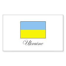 Ukraine Rectangle Decal