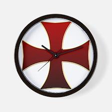 croix pattee Wall Clock