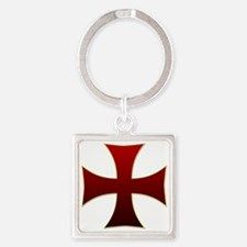 croix pattee Square Keychain