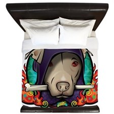 The Dog Lord King Duvet