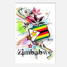flowerZimbabwe Postcards (Package of 8)
