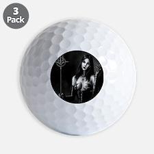 demonie bw staff fin squ Golf Ball