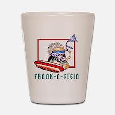 Frank N Stein tile Shot Glass