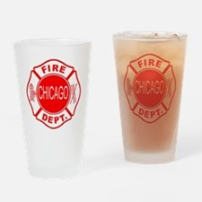 2-cfd maltese outline filled in fir Drinking Glass