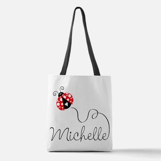 Ladybug Michelle Polyester Tote Bag