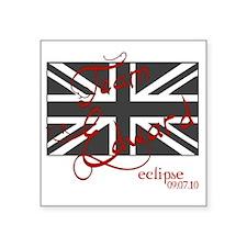 "UK_unionjack_teame Square Sticker 3"" x 3"""