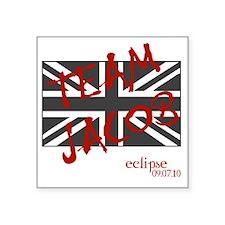 """UK_unionjack_teamj Square Sticker 3"""" x 3"""""""